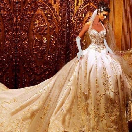 Свадебные наряды по-восточному